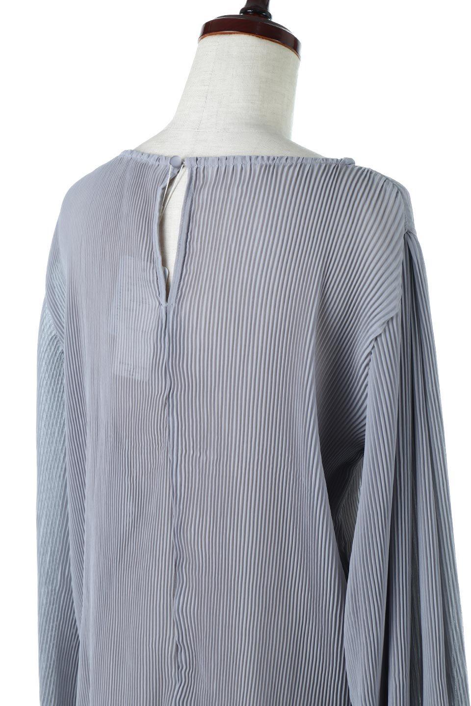 MicroPleatedVolumeSleeveBlouseミニプリーツ・ボリュームスリーブブラウス大人カジュアルに最適な海外ファッションのothers(その他インポートアイテム)のトップスやシャツ・ブラウス。光沢のあるミニプリーツの素材感が魅力の長袖ブラウス。ボリュームのある袖の可愛さと素材の大人っぽさで年令問わず楽しめるブラウスです。/main-11