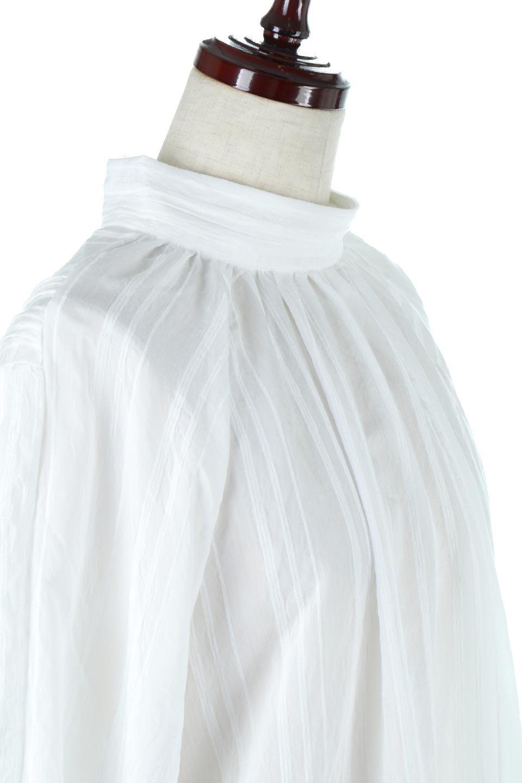 PinTuckStripeTunicBlouseストライプ・チュニックブラウス大人カジュアルに最適な海外ファッションのothers(その他インポートアイテム)のトップスやシャツ・ブラウス。前後の着用ができる2Wayタイプのチュニックブラウス。上品なシアー感のあるストライプの生地で、キレイめにもカジュアルにも楽しめるアイテムです。/main-21