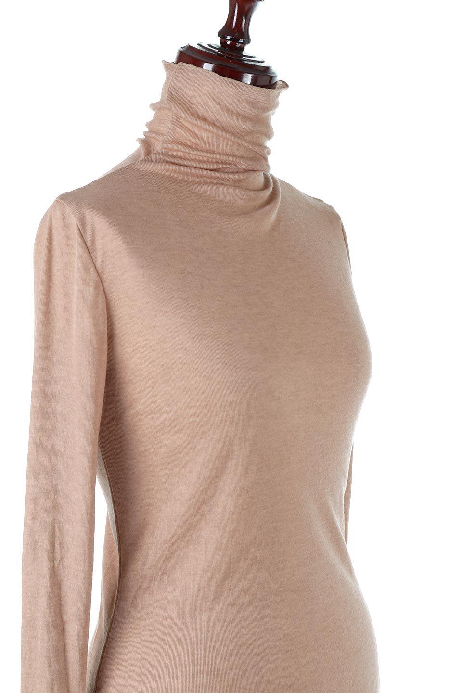 TurtleNeckSheerTopタートルネック・シアートップス大人カジュアルに最適な海外ファッションのothers(その他インポートアイテム)のトップスやカットソー。涼し気な透け感のシアー素材を使用した長袖カットソー。程よいタイトなシルエットでインナーに合わせても邪魔になりません。/main-31