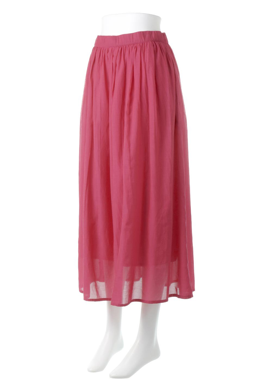 SemiSheerFlareSkirtスシボイル・フレアロングスカート大人カジュアルに最適な海外ファッションのothers(その他インポートアイテム)のボトムやスカート。ビスコース(レーヨン)とコットンのスシボイル生地を使用した発色の良いフレアスカート。スシボイルは上品な透け感と表面に若干の光沢があり、非常に人気のある素材です。/main-11