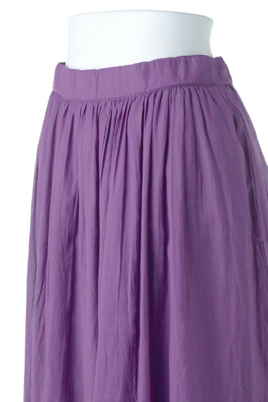 SemiSheerFlareSkirtスシボイル・フレアロングスカート大人カジュアルに最適な海外ファッションのothers(その他インポートアイテム)のボトムやスカート。ビスコース(レーヨン)とコットンのスシボイル生地を使用した発色の良いフレアスカート。スシボイルは上品な透け感と表面に若干の光沢があり、非常に人気のある素材です。/main-20