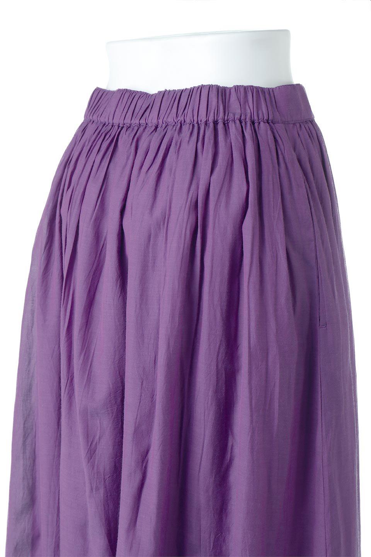 SemiSheerFlareSkirtスシボイル・フレアロングスカート大人カジュアルに最適な海外ファッションのothers(その他インポートアイテム)のボトムやスカート。ビスコース(レーヨン)とコットンのスシボイル生地を使用した発色の良いフレアスカート。スシボイルは上品な透け感と表面に若干の光沢があり、非常に人気のある素材です。/main-21