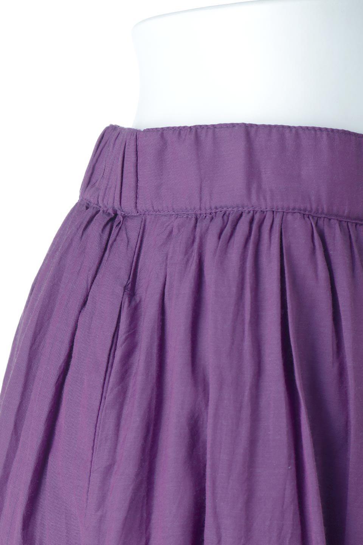 SemiSheerFlareSkirtスシボイル・フレアロングスカート大人カジュアルに最適な海外ファッションのothers(その他インポートアイテム)のボトムやスカート。ビスコース(レーヨン)とコットンのスシボイル生地を使用した発色の良いフレアスカート。スシボイルは上品な透け感と表面に若干の光沢があり、非常に人気のある素材です。/main-22