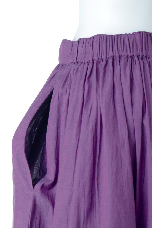 SemiSheerFlareSkirtスシボイル・フレアロングスカート大人カジュアルに最適な海外ファッションのothers(その他インポートアイテム)のボトムやスカート。ビスコース(レーヨン)とコットンのスシボイル生地を使用した発色の良いフレアスカート。スシボイルは上品な透け感と表面に若干の光沢があり、非常に人気のある素材です。/main-23