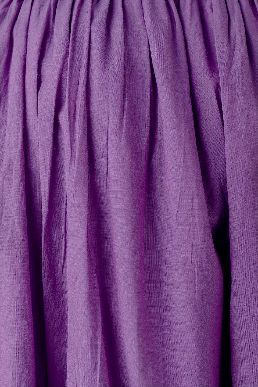 SemiSheerFlareSkirtスシボイル・フレアロングスカート大人カジュアルに最適な海外ファッションのothers(その他インポートアイテム)のボトムやスカート。ビスコース(レーヨン)とコットンのスシボイル生地を使用した発色の良いフレアスカート。スシボイルは上品な透け感と表面に若干の光沢があり、非常に人気のある素材です。/main-25