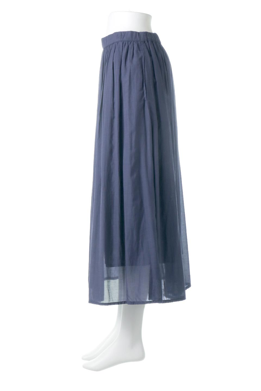 SemiSheerFlareSkirtスシボイル・フレアロングスカート大人カジュアルに最適な海外ファッションのothers(その他インポートアイテム)のボトムやスカート。ビスコース(レーヨン)とコットンのスシボイル生地を使用した発色の良いフレアスカート。スシボイルは上品な透け感と表面に若干の光沢があり、非常に人気のある素材です。/main-7