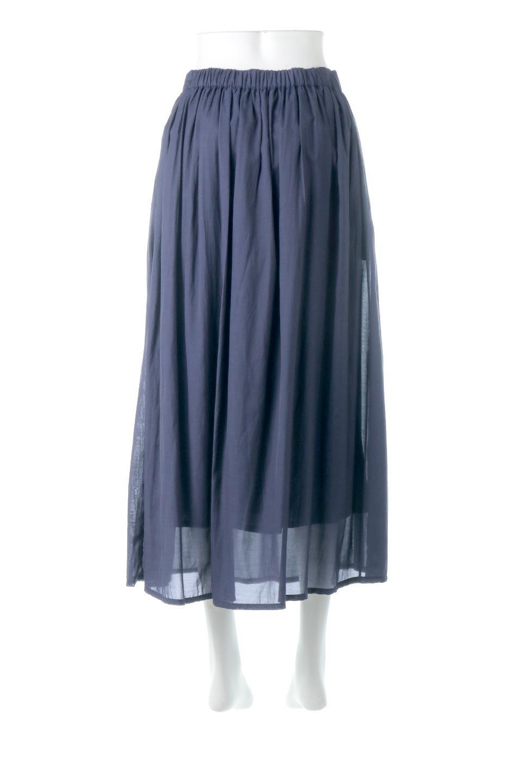 SemiSheerFlareSkirtスシボイル・フレアロングスカート大人カジュアルに最適な海外ファッションのothers(その他インポートアイテム)のボトムやスカート。ビスコース(レーヨン)とコットンのスシボイル生地を使用した発色の良いフレアスカート。スシボイルは上品な透け感と表面に若干の光沢があり、非常に人気のある素材です。/main-9