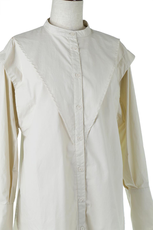 V-YokeLongSleeveBlouseVヨーク・長袖ブラウス大人カジュアルに最適な海外ファッションのothers(その他インポートアイテム)のトップスやシャツ・ブラウス。V字のヨークが印象的な長袖ブラウス。程よい張りがある生地を使用した大きめシルエットで春まで楽しめるアイテムです。/main-15