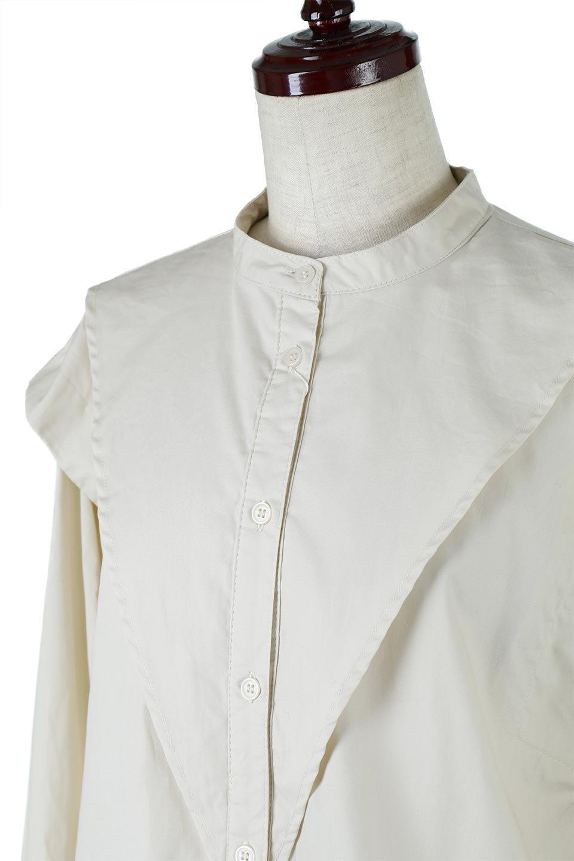 V-YokeLongSleeveBlouseVヨーク・長袖ブラウス大人カジュアルに最適な海外ファッションのothers(その他インポートアイテム)のトップスやシャツ・ブラウス。V字のヨークが印象的な長袖ブラウス。程よい張りがある生地を使用した大きめシルエットで春まで楽しめるアイテムです。/main-16