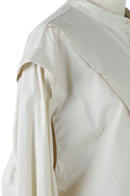 V-YokeLongSleeveBlouseVヨーク・長袖ブラウス大人カジュアルに最適な海外ファッションのothers(その他インポートアイテム)のトップスやシャツ・ブラウス。V字のヨークが印象的な長袖ブラウス。程よい張りがある生地を使用した大きめシルエットで春まで楽しめるアイテムです。/main-18