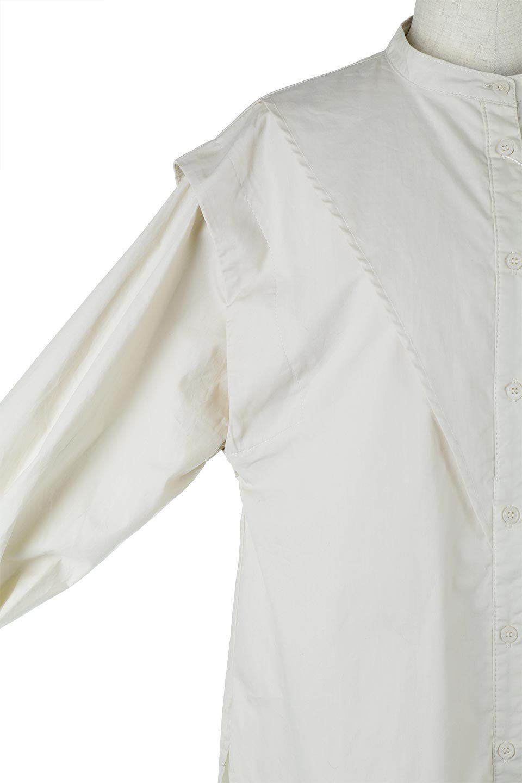V-YokeLongSleeveBlouseVヨーク・長袖ブラウス大人カジュアルに最適な海外ファッションのothers(その他インポートアイテム)のトップスやシャツ・ブラウス。V字のヨークが印象的な長袖ブラウス。程よい張りがある生地を使用した大きめシルエットで春まで楽しめるアイテムです。/main-19