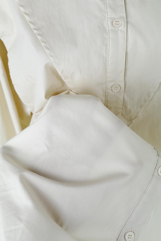 V-YokeLongSleeveBlouseVヨーク・長袖ブラウス大人カジュアルに最適な海外ファッションのothers(その他インポートアイテム)のトップスやシャツ・ブラウス。V字のヨークが印象的な長袖ブラウス。程よい張りがある生地を使用した大きめシルエットで春まで楽しめるアイテムです。/main-22