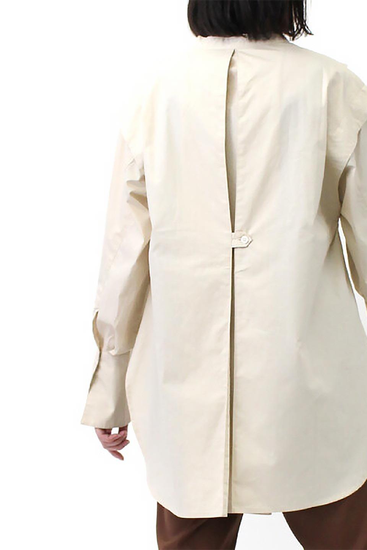 V-YokeLongSleeveBlouseVヨーク・長袖ブラウス大人カジュアルに最適な海外ファッションのothers(その他インポートアイテム)のトップスやシャツ・ブラウス。V字のヨークが印象的な長袖ブラウス。程よい張りがある生地を使用した大きめシルエットで春まで楽しめるアイテムです。/main-24