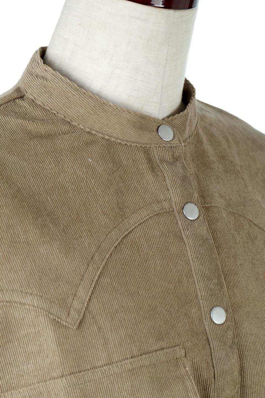 NarrowCordWesternBigShirts細うねコーデュロイ・ウエスタンシャツ大人カジュアルに最適な海外ファッションのothers(その他インポートアイテム)のトップスやシャツ・ブラウス。秋冬の定番素材コーデュロイを使用したウエスタン調のビッグシャツ。アーチ状のヨークやポケットはウエスタンシャツを感じさせるディテールですが、ルーズなシルエットは現代風な雰囲気です。/main-16