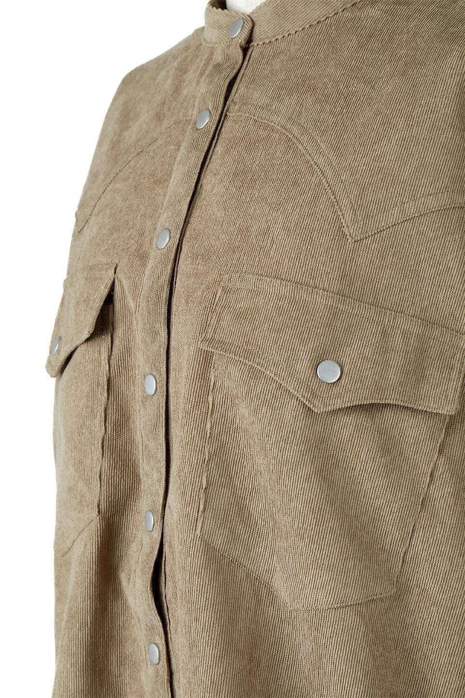 NarrowCordWesternBigShirts細うねコーデュロイ・ウエスタンシャツ大人カジュアルに最適な海外ファッションのothers(その他インポートアイテム)のトップスやシャツ・ブラウス。秋冬の定番素材コーデュロイを使用したウエスタン調のビッグシャツ。アーチ状のヨークやポケットはウエスタンシャツを感じさせるディテールですが、ルーズなシルエットは現代風な雰囲気です。/main-18