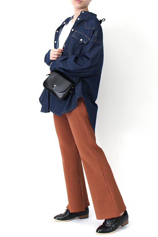 6.5ozDenimWesternBigShirtsライトデニム・ウエスタンシャツ大人カジュアルに最適な海外ファッションのothers(その他インポートアイテム)のトップスやシャツ・ブラウス。6.5オンス・ライトデニムを使用したウエスタン調のビッグシャツ。アーチ状のヨークやポケットはウエスタンシャツを感じさせるディテールですが、ルーズなシルエットは現代風な雰囲気です。/main-8