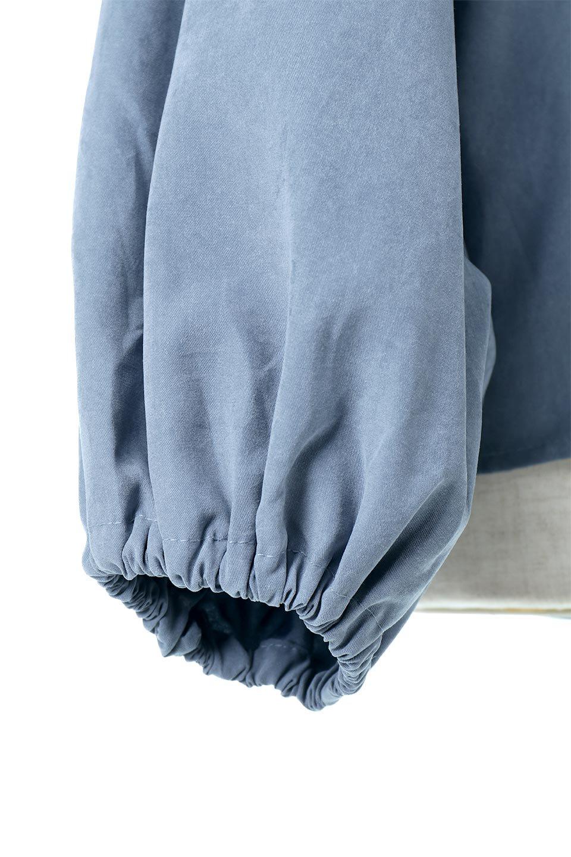 VolumeSleeveGatherBlouseボリュームスリーブ・ギャザーブラウス大人カジュアルに最適な海外ファッションのothers(その他インポートアイテム)のトップスやシャツ・ブラウス。ワイドなシルエットにふっくらとしたボリュームスリーブが可愛いブラウス。胸のギャザーがゆったりボディーを引き締めて着ぶくれを防いでくれます。/main-26