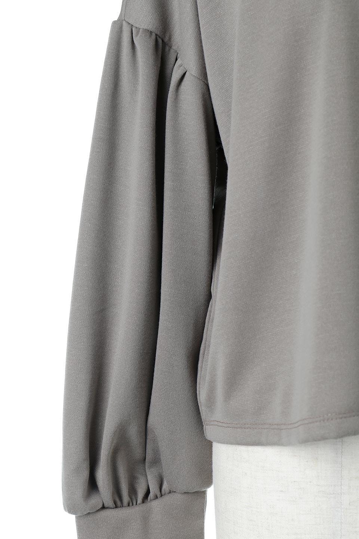 VolumeSleeve2WaypullOverボリュームスリーブ・2Wayプルオーバー大人カジュアルに最適な海外ファッションのothers(その他インポートアイテム)のトップスやシャツ・ブラウス。前後どちらでも着用可能な2ウェイタイプのトップス。ポンチ素材のもっちりとした質感はカジュアルコーデにピッタリです。/main-18