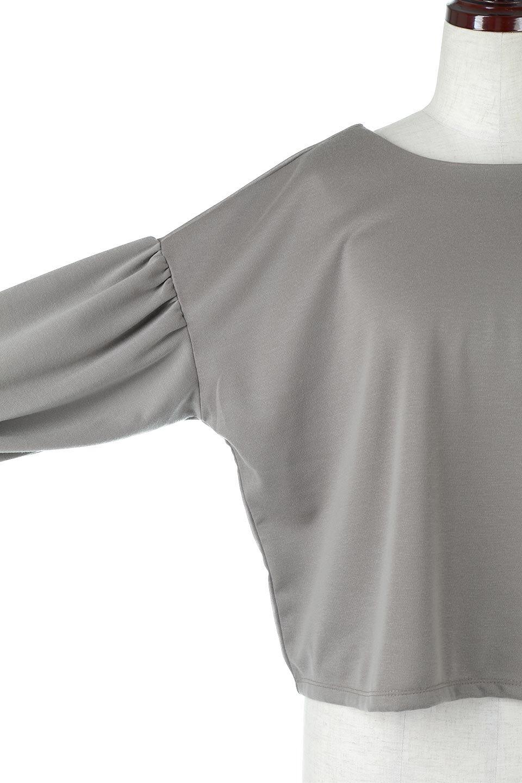 VolumeSleeve2WaypullOverボリュームスリーブ・2Wayプルオーバー大人カジュアルに最適な海外ファッションのothers(その他インポートアイテム)のトップスやシャツ・ブラウス。前後どちらでも着用可能な2ウェイタイプのトップス。ポンチ素材のもっちりとした質感はカジュアルコーデにピッタリです。/main-19