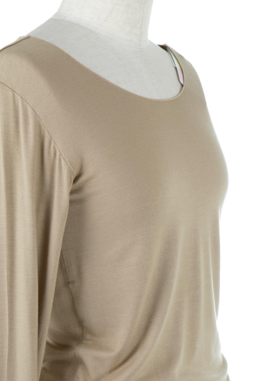 LongSleeveSmoothTeeシルクタッチ・ロンTee大人カジュアルに最適な海外ファッションのothers(その他インポートアイテム)のトップスやカットソー。シルクのような肌触りが人気のロンTeeストレッチが効いた素材でトップスやアウターに響かないタイトなシルエット。首回りや袖元はメローロック仕立て。/main-35