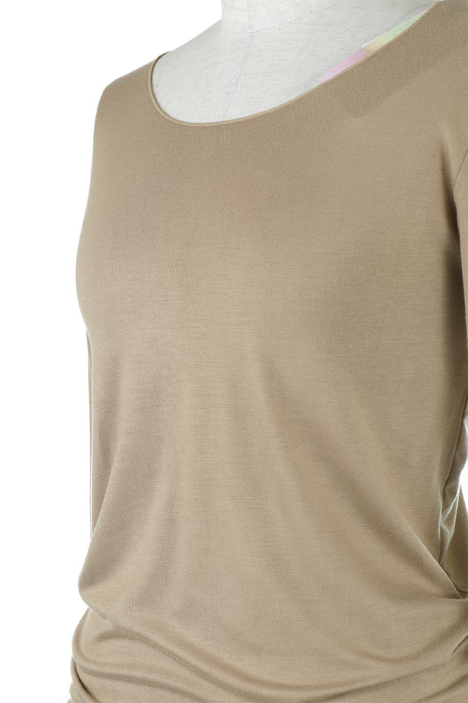 LongSleeveSmoothTeeシルクタッチ・ロンTee大人カジュアルに最適な海外ファッションのothers(その他インポートアイテム)のトップスやカットソー。シルクのような肌触りが人気のロンTeeストレッチが効いた素材でトップスやアウターに響かないタイトなシルエット。首回りや袖元はメローロック仕立て。/main-36