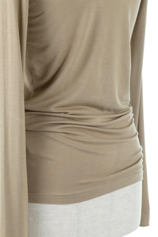 LongSleeveSmoothTeeシルクタッチ・ロンTee大人カジュアルに最適な海外ファッションのothers(その他インポートアイテム)のトップスやカットソー。シルクのような肌触りが人気のロンTeeストレッチが効いた素材でトップスやアウターに響かないタイトなシルエット。首回りや袖元はメローロック仕立て。/main-38