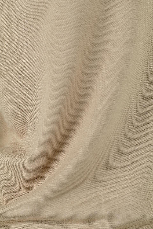 LongSleeveSmoothTeeシルクタッチ・ロンTee大人カジュアルに最適な海外ファッションのothers(その他インポートアイテム)のトップスやカットソー。シルクのような肌触りが人気のロンTeeストレッチが効いた素材でトップスやアウターに響かないタイトなシルエット。首回りや袖元はメローロック仕立て。/main-39