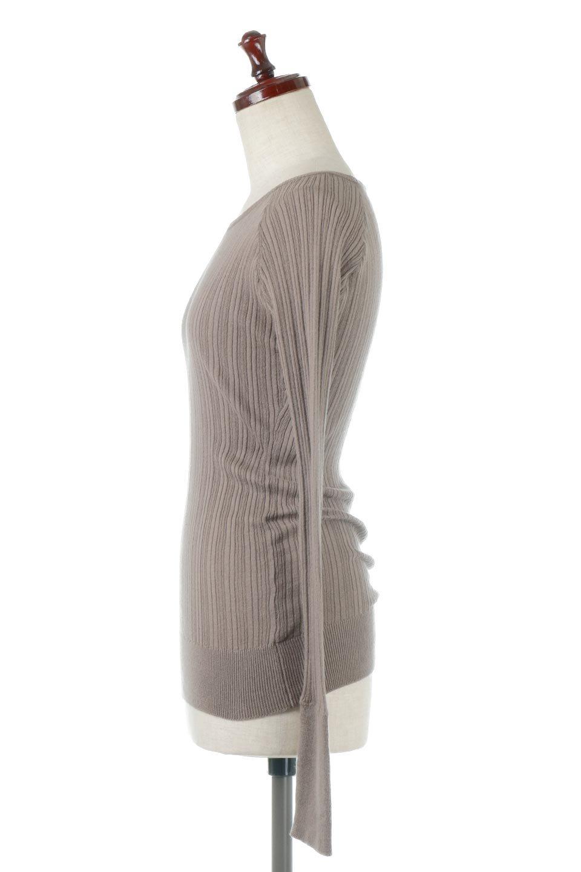 RandomBroadStitchCrewNeckTopランダムテレコ・クルーネック大人カジュアルに最適な海外ファッションのothers(その他インポートアイテム)のトップスやカットソー。テレコニット特融のフィット感が心地よい綿100%のカットソー。伸縮性に優れ、綿特有の吸湿性の良さもうれしい、機能面でも優れた万能アイテム。/main-12