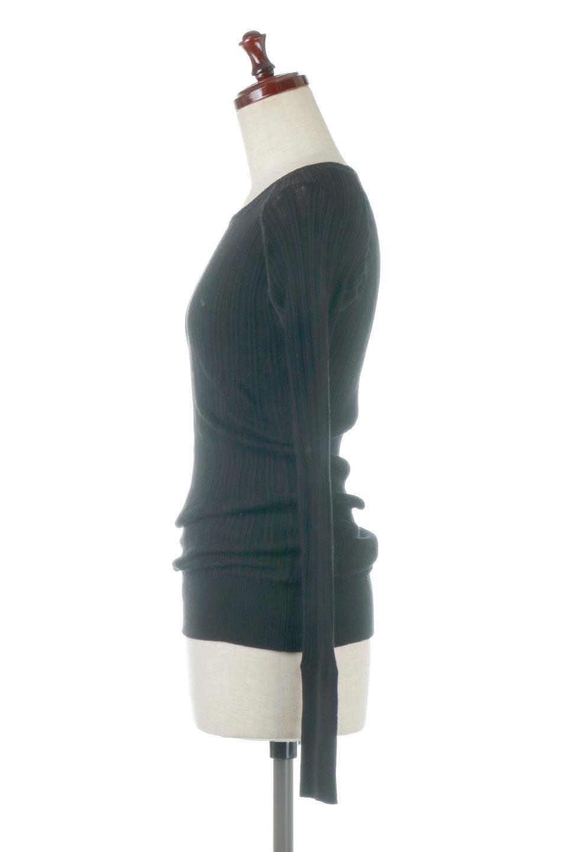 RandomBroadStitchCrewNeckTopランダムテレコ・クルーネック大人カジュアルに最適な海外ファッションのothers(その他インポートアイテム)のトップスやカットソー。テレコニット特融のフィット感が心地よい綿100%のカットソー。伸縮性に優れ、綿特有の吸湿性の良さもうれしい、機能面でも優れた万能アイテム。/main-22