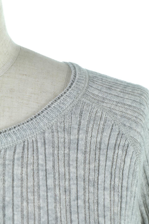 RandomBroadStitchCrewNeckTopランダムテレコ・クルーネック大人カジュアルに最適な海外ファッションのothers(その他インポートアイテム)のトップスやカットソー。テレコニット特融のフィット感が心地よい綿100%のカットソー。伸縮性に優れ、綿特有の吸湿性の良さもうれしい、機能面でも優れた万能アイテム。/main-27