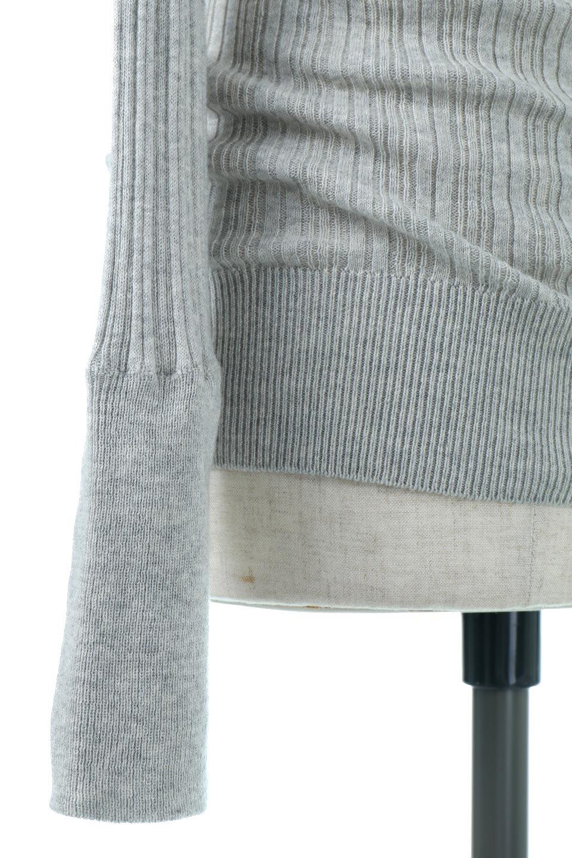 RandomBroadStitchCrewNeckTopランダムテレコ・クルーネック大人カジュアルに最適な海外ファッションのothers(その他インポートアイテム)のトップスやカットソー。テレコニット特融のフィット感が心地よい綿100%のカットソー。伸縮性に優れ、綿特有の吸湿性の良さもうれしい、機能面でも優れた万能アイテム。/main-30