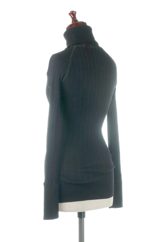 RandomBroadStitchCrewNeckTopランダムテレコ・タートルネック大人カジュアルに最適な海外ファッションのothers(その他インポートアイテム)のトップスやカットソー。テレコニット特融のフィット感が心地よい綿100%のカットソー。伸縮性に優れ、綿特有の吸湿性の良さもうれしい、機能面でも優れた万能アイテム。/main-23