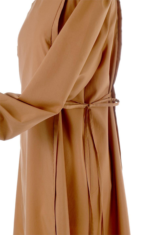 SideRibbonPuffSleeveDressサイドリボン・パフスリーブワンピース大人カジュアルに最適な海外ファッションのothers(その他インポートアイテム)のワンピースやマキシワンピース。サイドのリボンがアクセントのロングワンピース。パフスリーブのシンプルなデザインで女性らしを感じるアイテム。/main-19