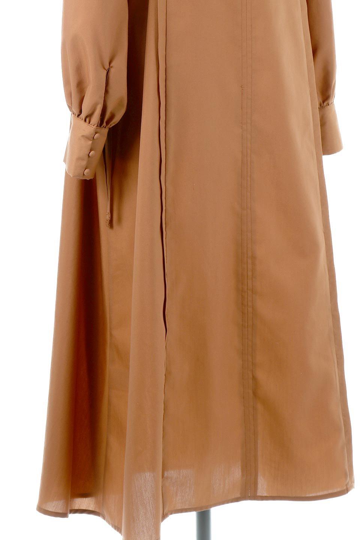 SideRibbonPuffSleeveDressサイドリボン・パフスリーブワンピース大人カジュアルに最適な海外ファッションのothers(その他インポートアイテム)のワンピースやマキシワンピース。サイドのリボンがアクセントのロングワンピース。パフスリーブのシンプルなデザインで女性らしを感じるアイテム。/main-20