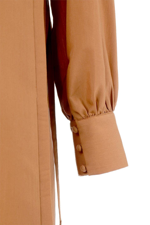 SideRibbonPuffSleeveDressサイドリボン・パフスリーブワンピース大人カジュアルに最適な海外ファッションのothers(その他インポートアイテム)のワンピースやマキシワンピース。サイドのリボンがアクセントのロングワンピース。パフスリーブのシンプルなデザインで女性らしを感じるアイテム。/main-22