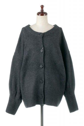 海外ファッションや大人カジュアルに最適なインポートセレクトアイテムのFront & Back 2 Way Knit Cardigan もちもちニット・2Wayカーディガン