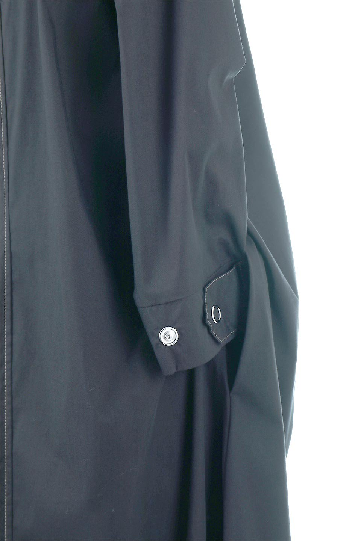 FlarePanelLongShirtsDressコットンストレッチ・シャツワンピース大人カジュアルに最適な海外ファッションのothers(その他インポートアイテム)のワンピースやミディワンピース。ゆったり目なのに細見え効果抜群の長袖シャツワンピース。タイトではない程よいシェイプ感があり、女性らしいシルエットが美しいワンピースです。/main-12
