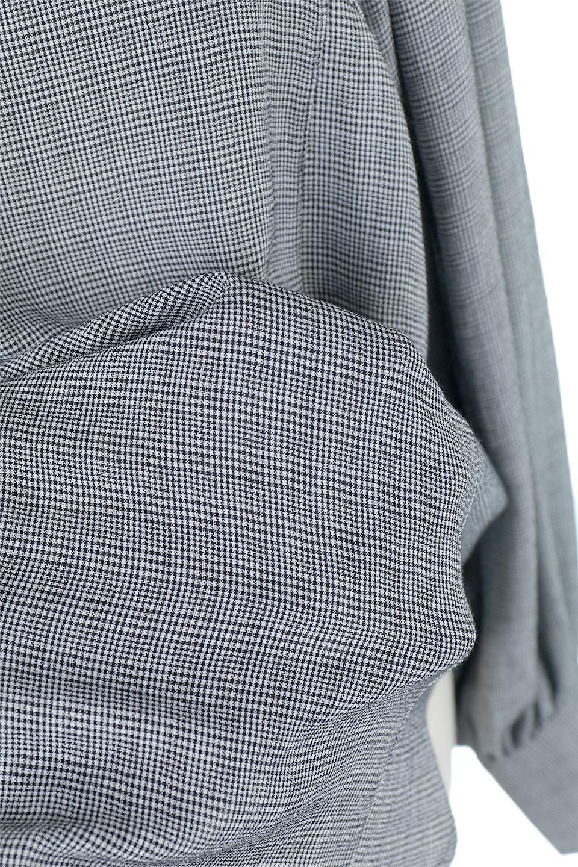CheckGatherSleeveBlouseチェック柄・ギャザーブラウス大人カジュアルに最適な海外ファッションのothers(その他インポートアイテム)のトップスやシャツ・ブラウス。繊細で柔らかいジョーゼットを使ったチェック柄が可愛いブラウスジョーゼットの質感をうまく使ったギャザーデザインで、たっぷりしたシルエットがきれいに落ちてまとまります。手首と首元にメリハリを付け、広がりすぎず上品な雰囲気。/main-23