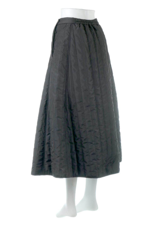 InsulatedQuiltedFlareSkirt中綿入り・キルティングスカート大人カジュアルに最適な海外ファッションのothers(その他インポートアイテム)のボトムやスカート。寒い時期に嬉しい中綿入のキルティング・フレアスカート。ソフトなポリエステル生地で軽い仕上がりです。/main-13