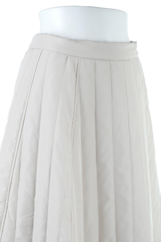 InsulatedQuiltedFlareSkirt中綿入り・キルティングスカート大人カジュアルに最適な海外ファッションのothers(その他インポートアイテム)のボトムやスカート。寒い時期に嬉しい中綿入のキルティング・フレアスカート。ソフトなポリエステル生地で軽い仕上がりです。/main-15