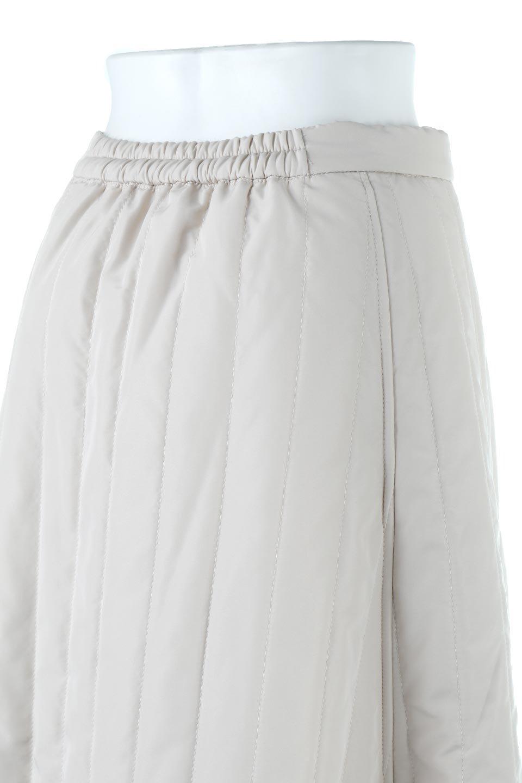InsulatedQuiltedFlareSkirt中綿入り・キルティングスカート大人カジュアルに最適な海外ファッションのothers(その他インポートアイテム)のボトムやスカート。寒い時期に嬉しい中綿入のキルティング・フレアスカート。ソフトなポリエステル生地で軽い仕上がりです。/main-16