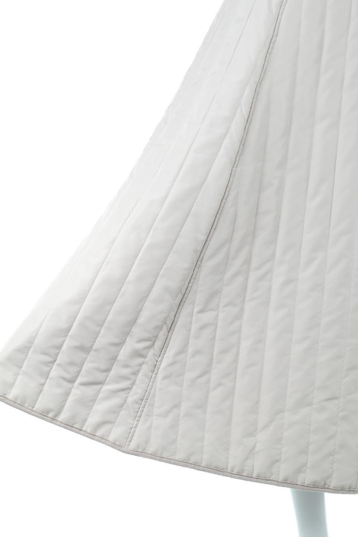InsulatedQuiltedFlareSkirt中綿入り・キルティングスカート大人カジュアルに最適な海外ファッションのothers(その他インポートアイテム)のボトムやスカート。寒い時期に嬉しい中綿入のキルティング・フレアスカート。ソフトなポリエステル生地で軽い仕上がりです。/main-22