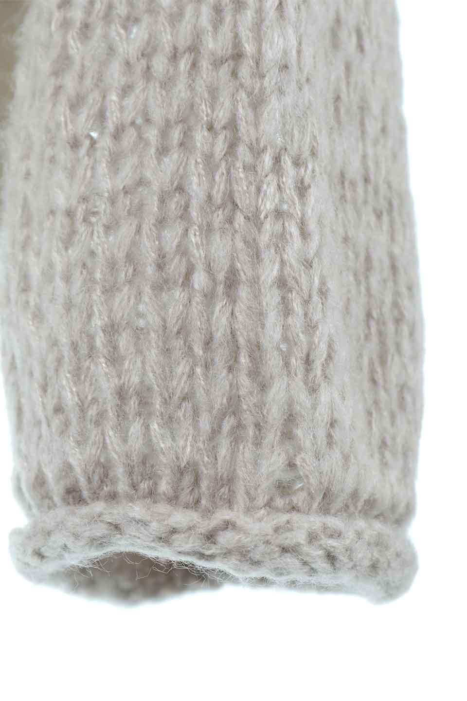 LowGaugeShortKnitTopローゲージ・ショートセーター大人カジュアルに最適な海外ファッションのothers(その他インポートアイテム)のトップスやニット・セーター。手編みのようなざっくりとしたローゲージのゆるさが可愛いニットプルオーバー。編地は透け感もあり、レイヤードスタイルにもぴったりです。/main-13