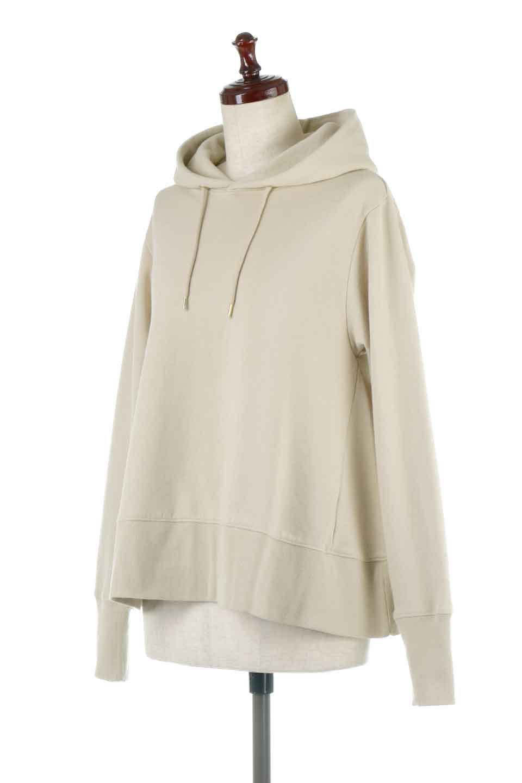 SweatFlareHoodedParka裾フレア・スウェットパーカ大人カジュアルに最適な海外ファッションのothers(その他インポートアイテム)のトップスやカットソー。肉厚のコットン生地を使用したスウェットパーカ。ウォッシュを掛けてビンテージ感をだした本格派。/main-1