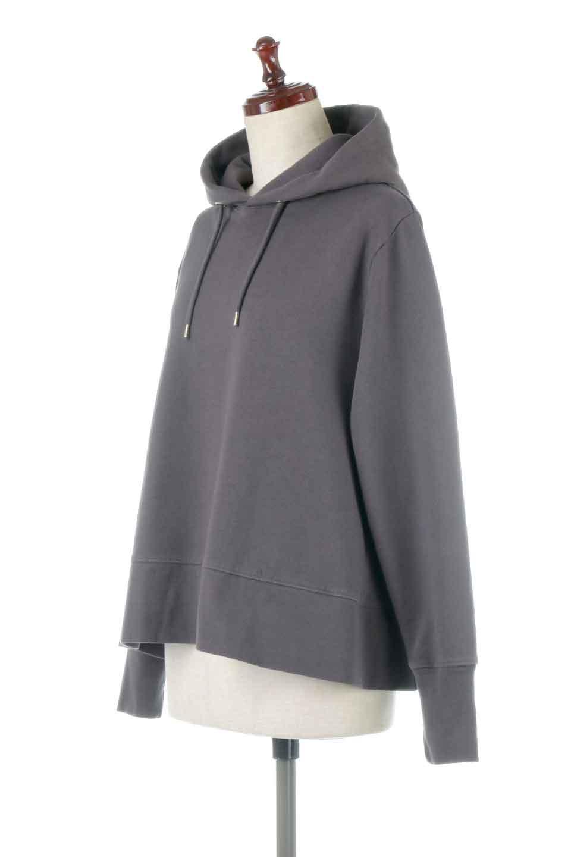 SweatFlareHoodedParka裾フレア・スウェットパーカ大人カジュアルに最適な海外ファッションのothers(その他インポートアイテム)のトップスやカットソー。肉厚のコットン生地を使用したスウェットパーカ。ウォッシュを掛けてビンテージ感をだした本格派。/main-11