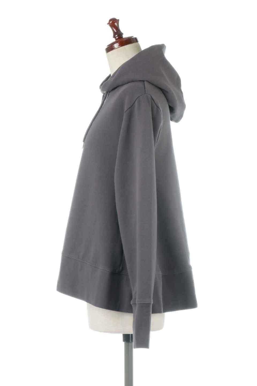SweatFlareHoodedParka裾フレア・スウェットパーカ大人カジュアルに最適な海外ファッションのothers(その他インポートアイテム)のトップスやカットソー。肉厚のコットン生地を使用したスウェットパーカ。ウォッシュを掛けてビンテージ感をだした本格派。/main-12