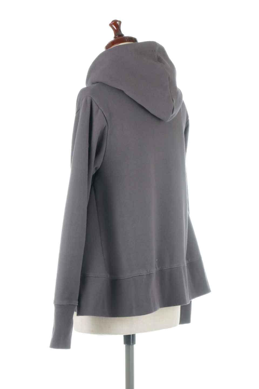 SweatFlareHoodedParka裾フレア・スウェットパーカ大人カジュアルに最適な海外ファッションのothers(その他インポートアイテム)のトップスやカットソー。肉厚のコットン生地を使用したスウェットパーカ。ウォッシュを掛けてビンテージ感をだした本格派。/main-13