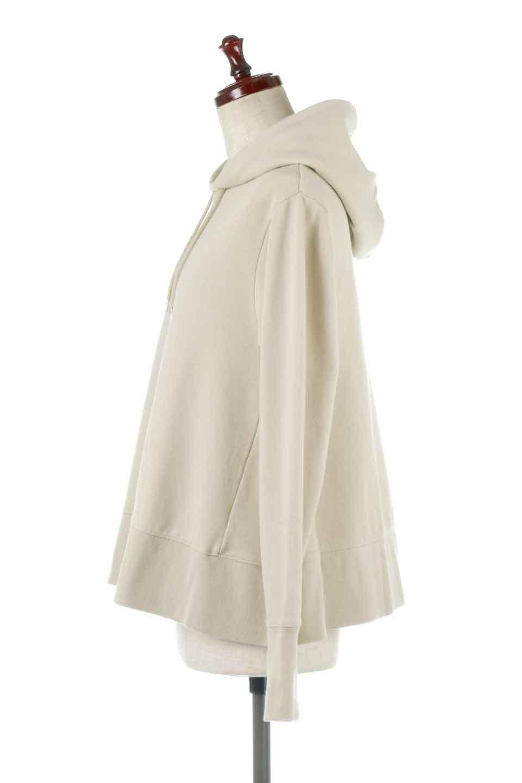 SweatFlareHoodedParka裾フレア・スウェットパーカ大人カジュアルに最適な海外ファッションのothers(その他インポートアイテム)のトップスやカットソー。肉厚のコットン生地を使用したスウェットパーカ。ウォッシュを掛けてビンテージ感をだした本格派。/main-2