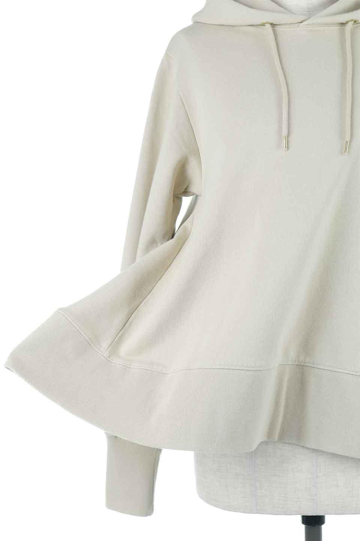 SweatFlareHoodedParka裾フレア・スウェットパーカ大人カジュアルに最適な海外ファッションのothers(その他インポートアイテム)のトップスやカットソー。肉厚のコットン生地を使用したスウェットパーカ。ウォッシュを掛けてビンテージ感をだした本格派。/main-21
