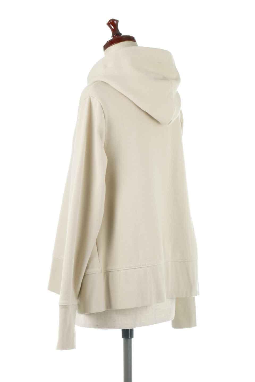 SweatFlareHoodedParka裾フレア・スウェットパーカ大人カジュアルに最適な海外ファッションのothers(その他インポートアイテム)のトップスやカットソー。肉厚のコットン生地を使用したスウェットパーカ。ウォッシュを掛けてビンテージ感をだした本格派。/main-3